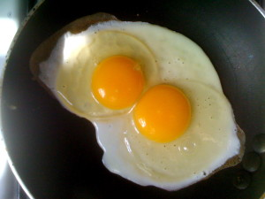 cholesterol, testosterone and egg yolks