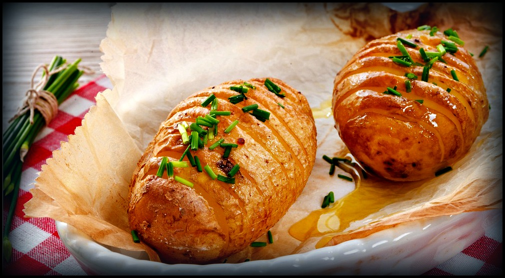 High Testosterone Recipes: Hasselback Potatoes