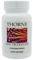 bottle of zinc picolinate