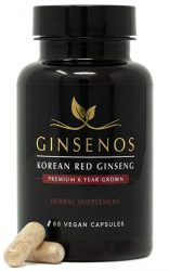 Korean red ginseng erection supplement